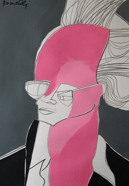 Ritratto di Sigmar Polke - Gabriele Donelli - Acrilico - 300 €