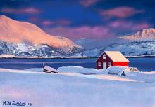 Neve norvegese  - Michele De Flaviis - Digital Art