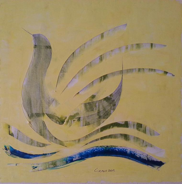 La paperella - Girolamo Peralta - Olio