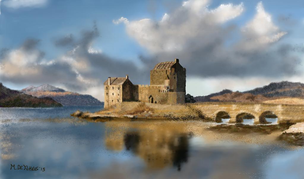 Paesaggio irlandese - Michele De Flaviis - Digital Art - 150 €