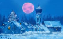 Schonach (Germania) La grande Luna - Michele De Flaviis - Digital Art
