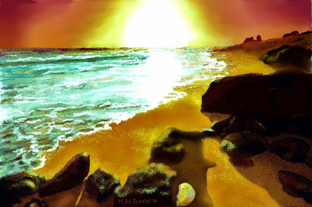 Sabbia dorata2 - Michele De Flaviis - Digital Art