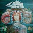 """""""Melodia Mar Mediterraneo"""" - Viktoriya Bubnova - Olio - Venduto!"""