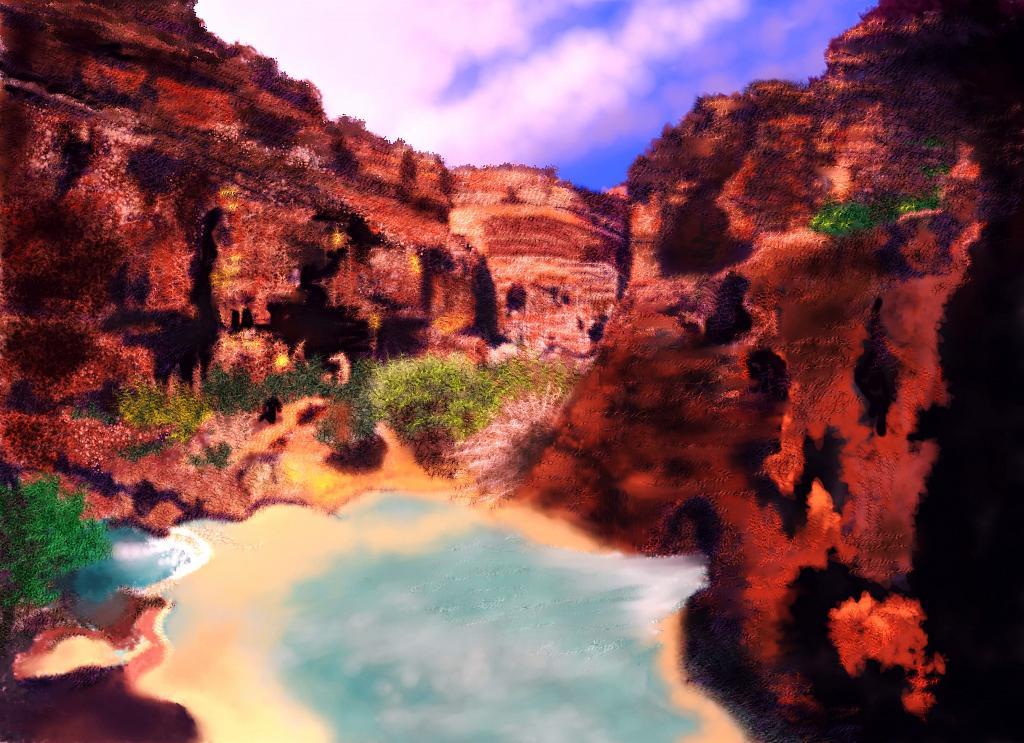 Arizona - Michele De Flaviis - Digital Art