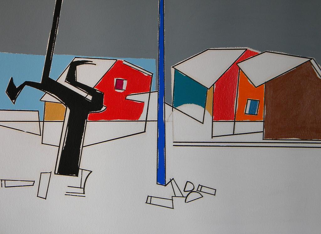 Paesaggio con la neve - Gabriele Donelli - Acrilico - 400 €