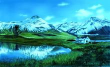 Fattoria fra i monti2 - Michele De Flaviis - Digital Art