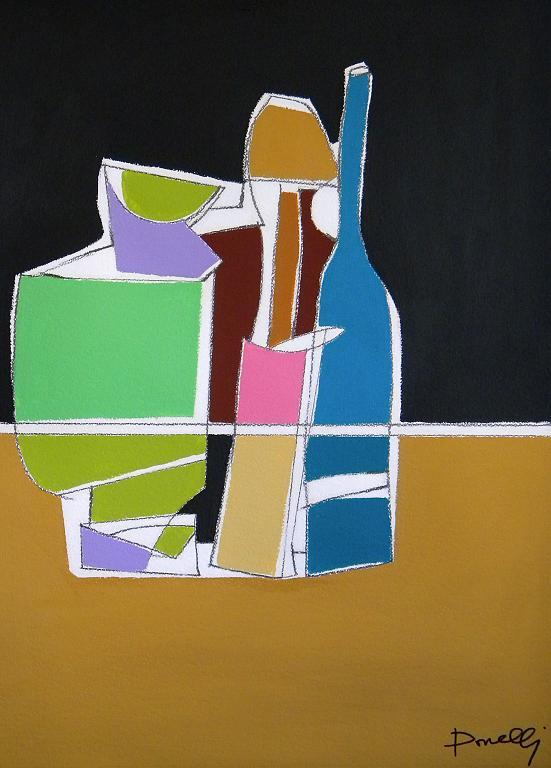 Composizione numero quattro - Gabriele Donelli - Acrilico - 300 €