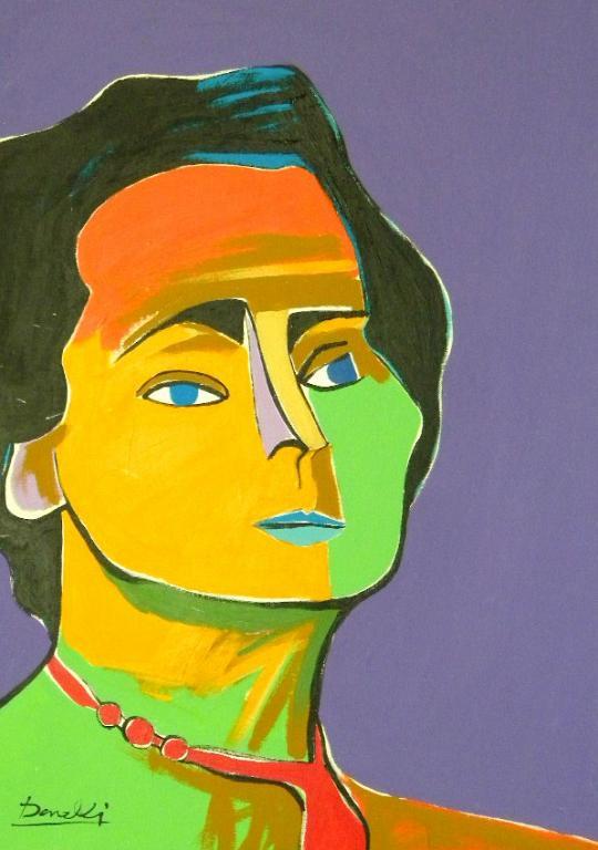 Ritratto di Jacqueline Roque - Gabriele Donelli - Acrilico - 900 €