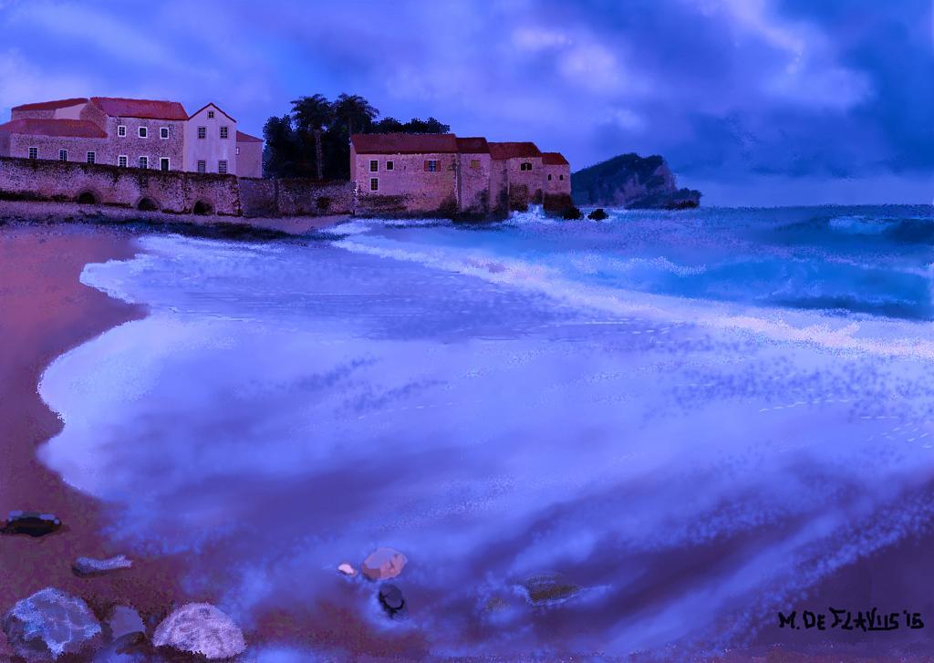 Il mare d'inverno...2 - Michele De Flaviis - Digital Art