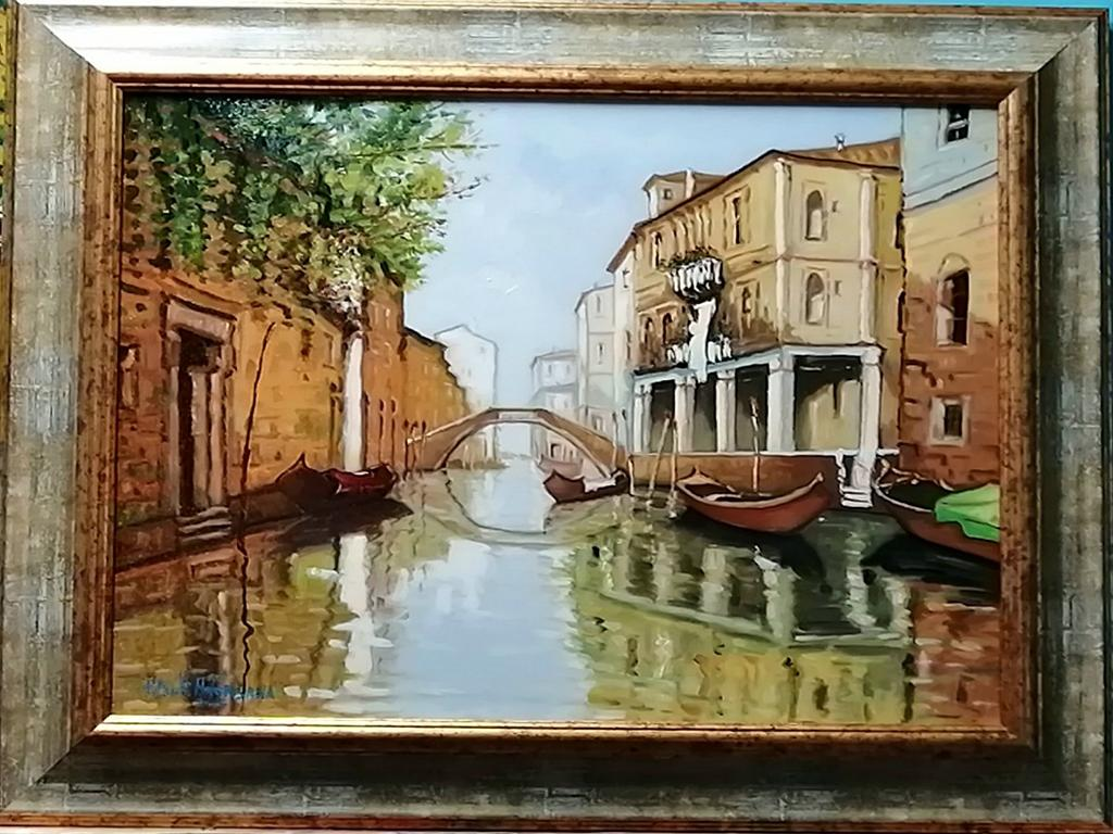 Venezia 2005 - Pietro Dell Aversana - Olio - 500 €