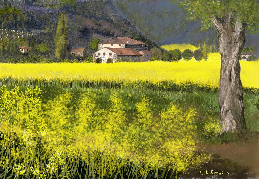 Cascinale - Michele De Flaviis - Digital Art
