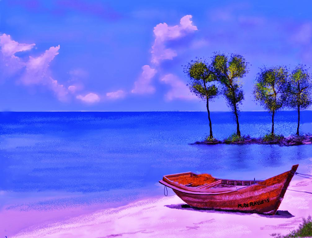 Vecchia barca2 - Michele De Flaviis - Digital Art