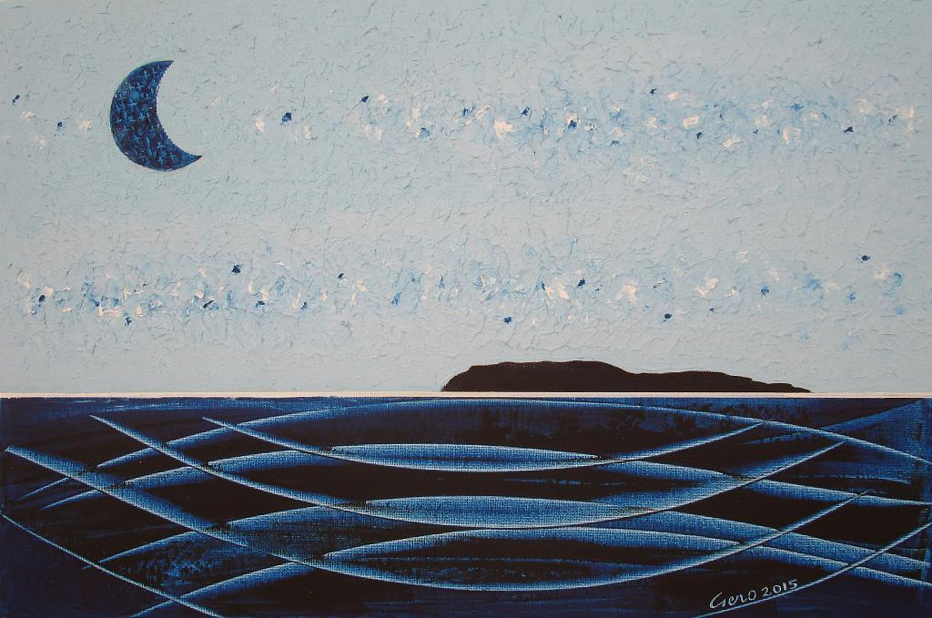Scaglie di mare - Girolamo Peralta - Acrilico