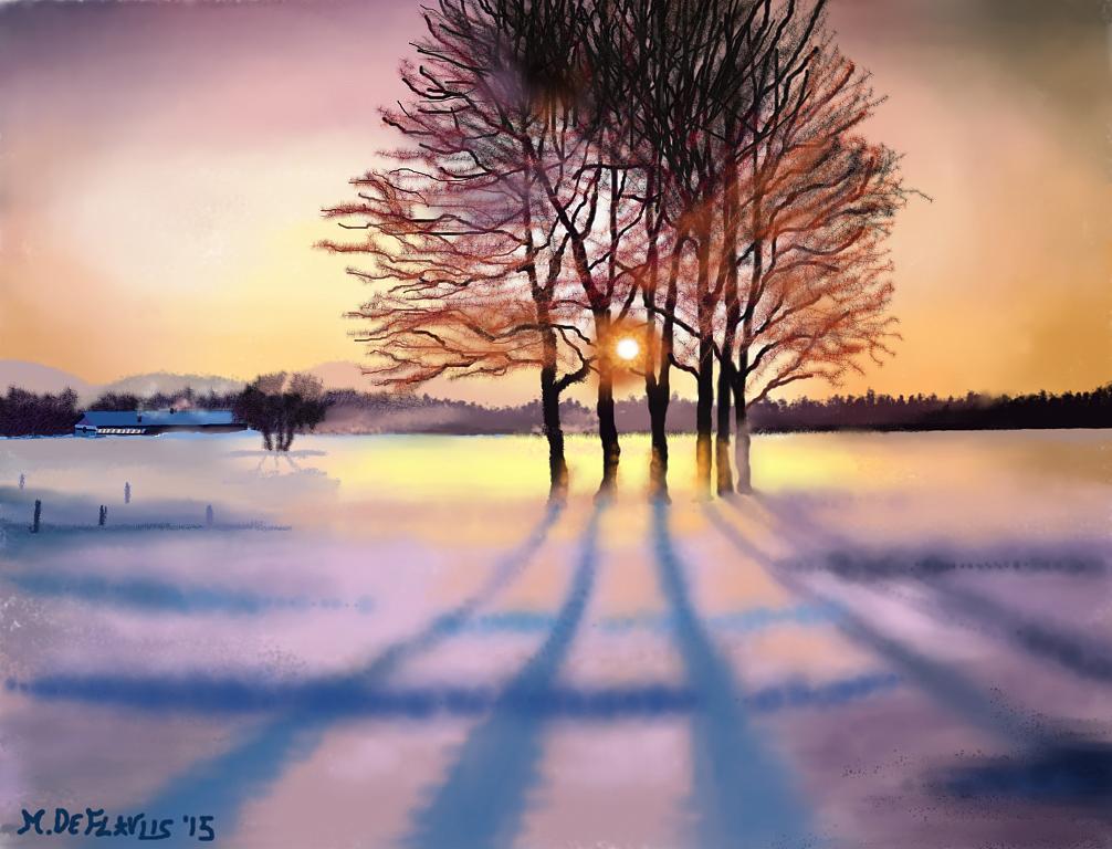 C'è la neve!! - Michele De Flaviis - Digital Art