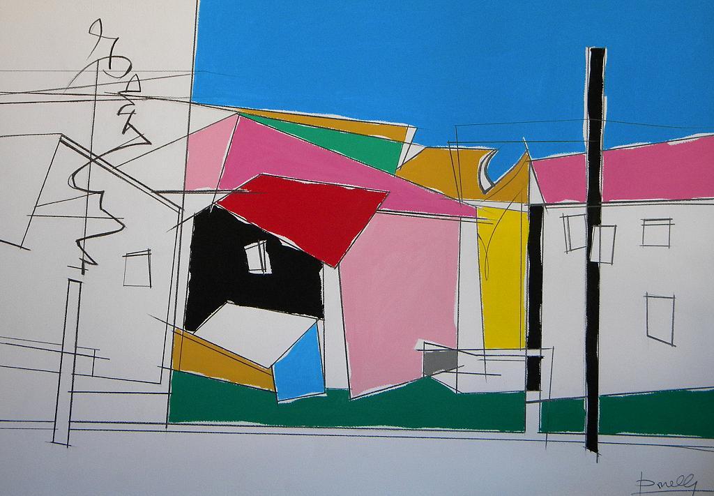 Paesaggio - Gabriele Donelli - Acrilico - 700 €