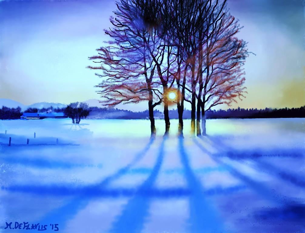C'è la neve!!2 - Michele De Flaviis - Digital Art