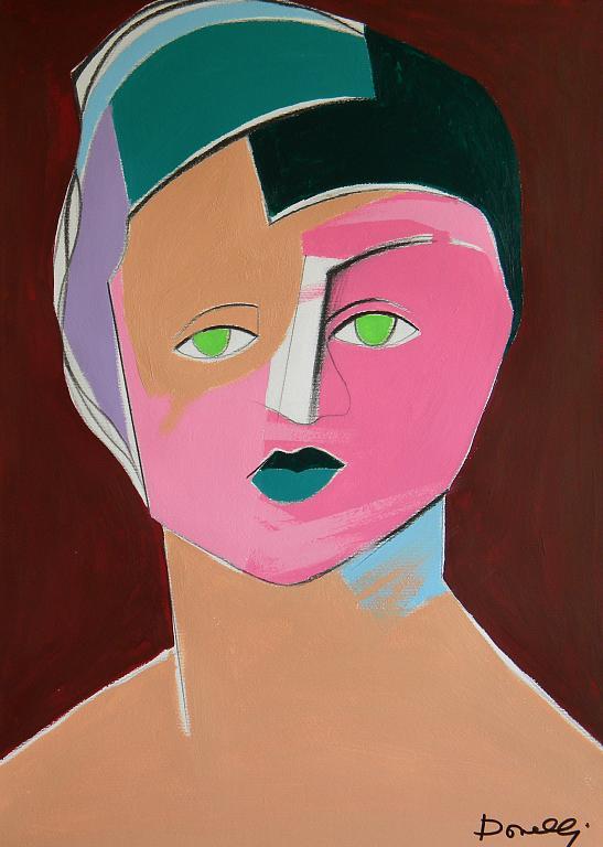 Ritratto di Suzanne Valadon - Gabriele Donelli - Acrilico - 900 €