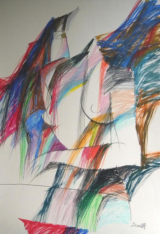 Ritratto di Giovanna - Gabriele Donelli - Pastelli - 1100 €
