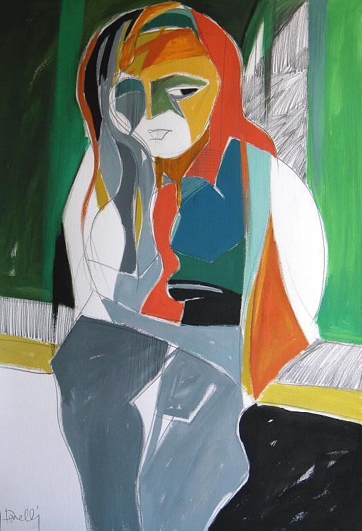 Ritratto di Luana Ghidotti - Gabriele Donelli - Acrilico - 300 €