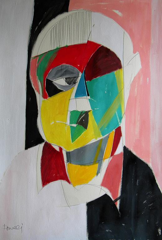 Ritratto di Guglielmo Mariaschi - Gabriele Donelli - Acrilico - 400 €