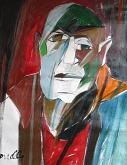 Ritratto di Jean Dubuffet - Gabriele Donelli - Olio - 400€