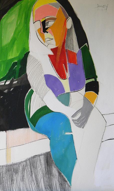 Ritratto di Luana Ghidotti - Gabriele Donelli - Acrilico - 600 €