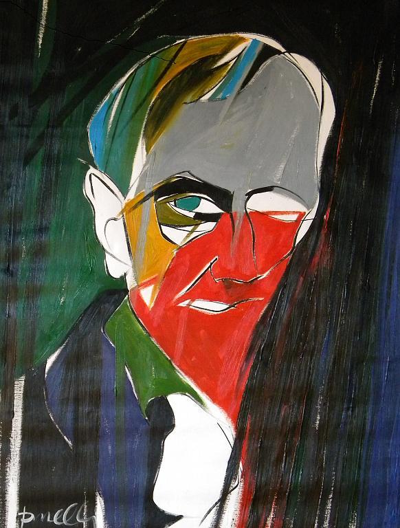 Ritratto di Charles Baudelaire - Gabriele Donelli - Olio - 900 €
