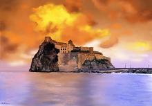 Isola d'Ischia - Michele De Flaviis - Digital Art