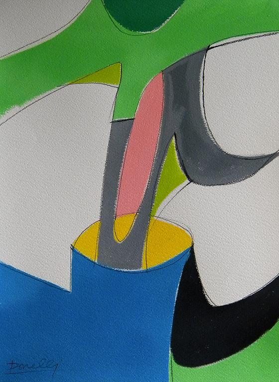 Segni d'origine primitiva - Gabriele Donelli - Acrilico - 300 €