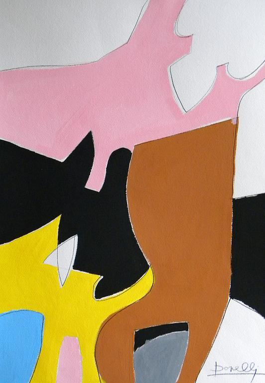 Alcune conseguenze del rosa - Gabriele Donelli - Acrilico - 300 €
