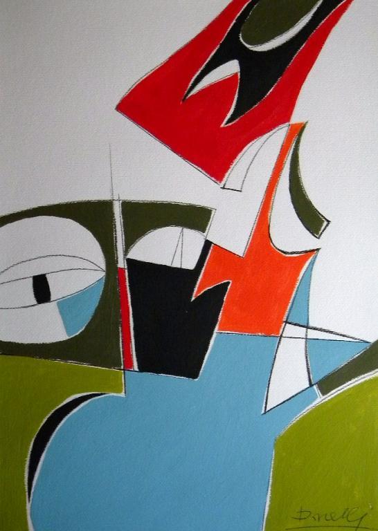 Quadrupede - Gabriele Donelli - Acrilico - 600 €