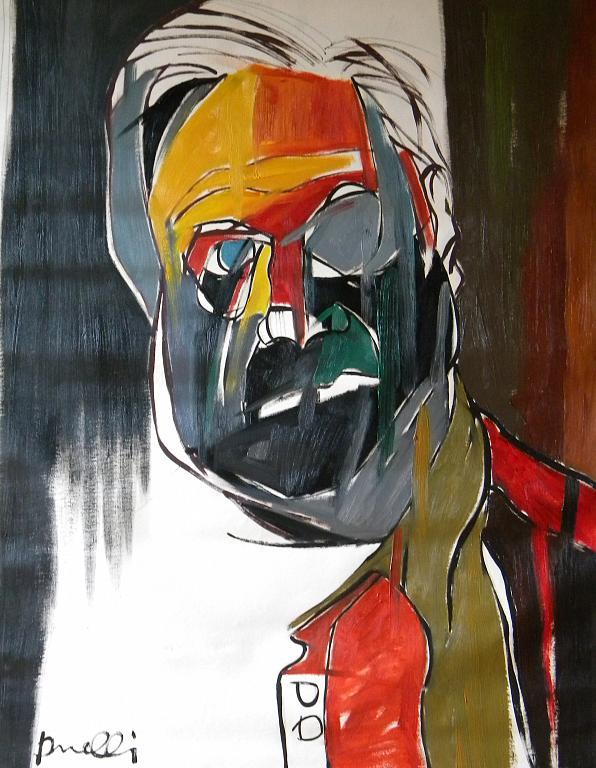 Ritratto di Francis Bacon - Gabriele Donelli - Olio - 600 €