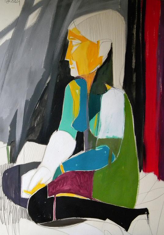 Ritratto di ragazza - Gabriele Donelli - Acrilico - 300 €