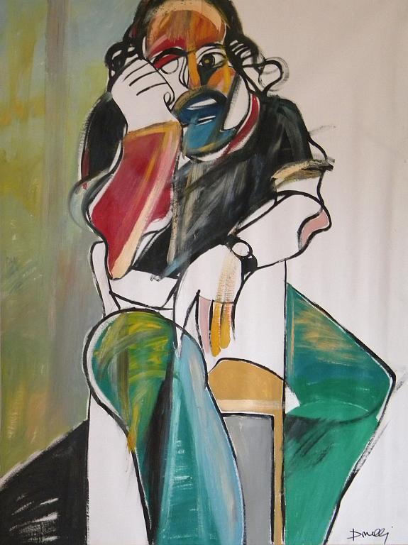 Autoritratto - Gabriele Donelli - Olio - 1400 €