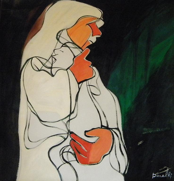 Maternità - Gabriele Donelli - Olio - 700 €