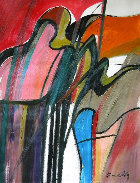 Presenze metafisiche - Gabriele Donelli - Olio - 400 €
