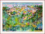 Paesaggio Toscano - Aurelio Villanova - Acrilico - 135€