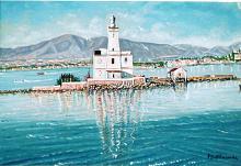 Porto di Olbia - Pietro Dell Aversana - Olio - 175€