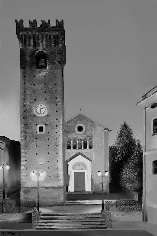 Torre Acquaviva XIV sec.(2) Mosciano S.A.(TE) - Michele De Flaviis - Digital Art