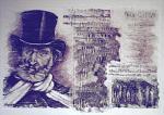 Omaggio a G.Verdi - Pietro Dell Aversana - Olio - 265€