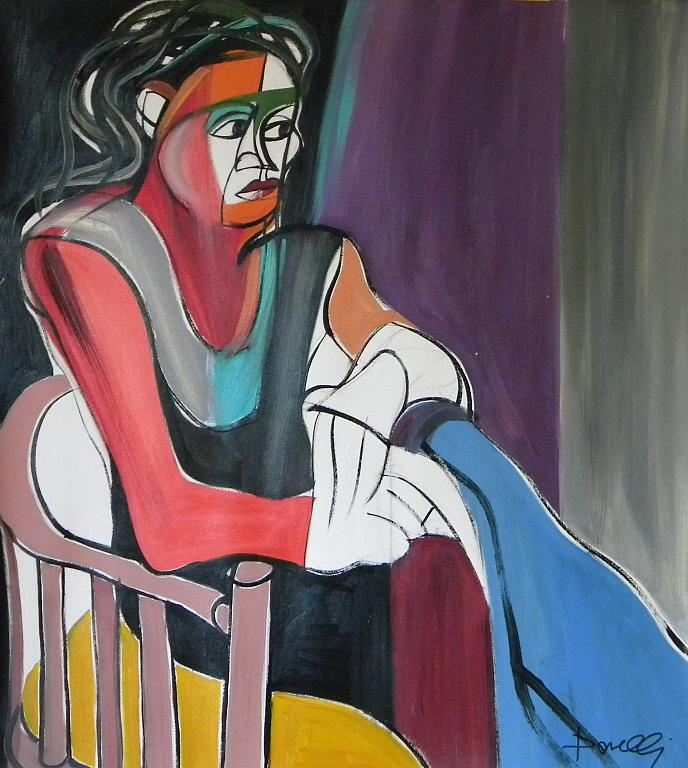 Ritratto di Margherita - Gabriele Donelli - Olio - 600 €