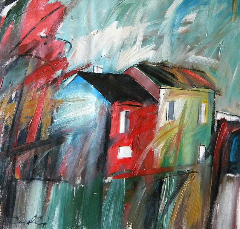 Paesaggio - Gabriele Donelli - Olio - 700 €