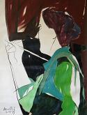 La pittrice - Gabriele Donelli - Olio - 400€