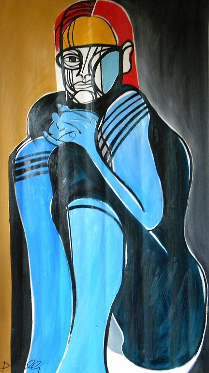 Ritratto di ragazza - Gabriele Donelli - Olio - 1100 €