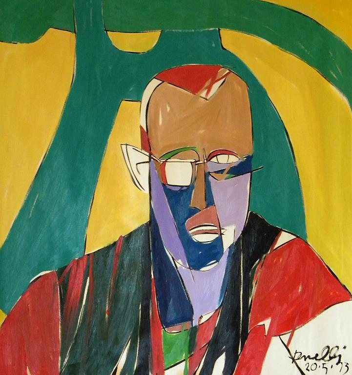 Ritratto di Keith Haring - Gabriele Donelli - Olio - 300 €