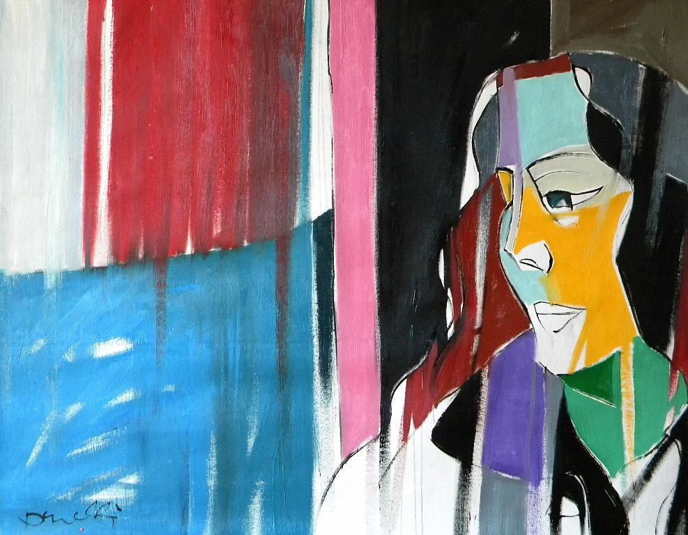 Ritratto di Luana Ghidotti - Gabriele Donelli - Olio - 900 €