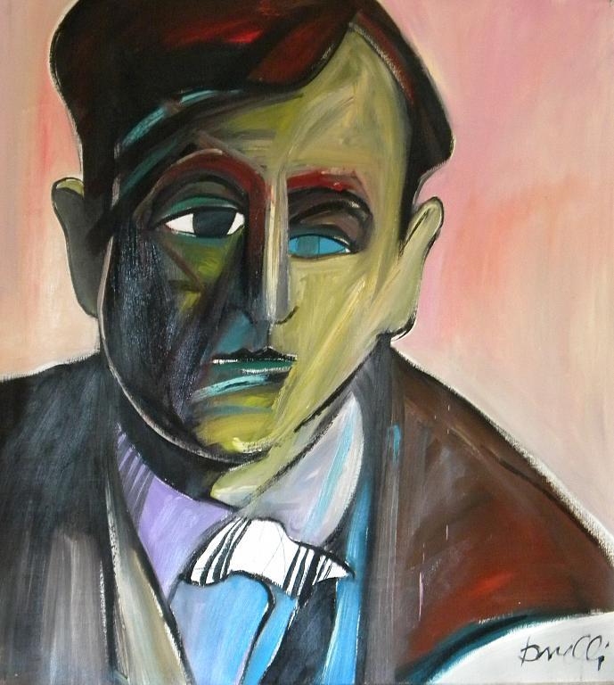 Ritratto di Filippo de Pisis - Gabriele Donelli - Olio - 400 €