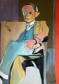 Ritratto di Pablo Picasso - Gabriele Donelli - Olio - € - Venduto!