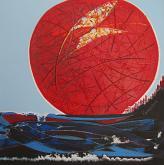 Laudes di un sole espressionista - Girolamo Peralta - Olio e Acrilico