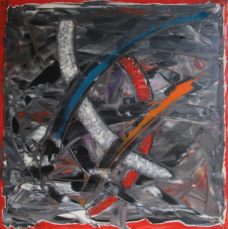The pain - Girolamo Peralta - Olio